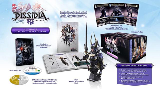 Dissidia Final Fantasy NT Collectors Edition