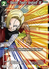 Secret Treaty Android 18 - TB2-009 - R