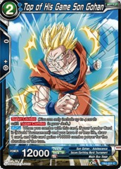 Top of His Game Son Gohan - TB2-021 - C