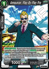 Announcer, Play-By-Play Pro - TB2-067 - UC