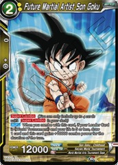 Future Martial Artist Son Goku - TB2-052 - C - Foil on Channel Fireball