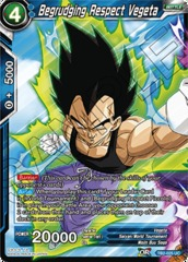 Begrudging Respect Vegeta - TB2-025 - UC - Foil on Channel Fireball