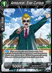 Announcer, Ever-Curious - TB2-066 - C - Foil