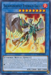 Salamangreat Emerald Eagle - SOFU-EN033 - Common - 1st Edition