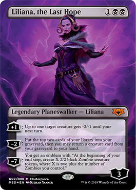 Liliana, the Last Hope - Foil