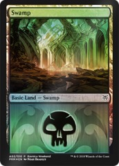 Swamp (A02/010) FOIL - Dimir Ravnica Weekend Promo