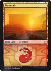 Mountain - Boros (A07) - Foil Ravnica Weekend Promo