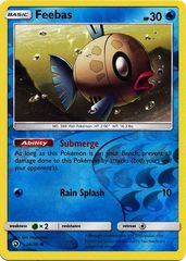Feebas - 28/70 - Common - Reverse Holo