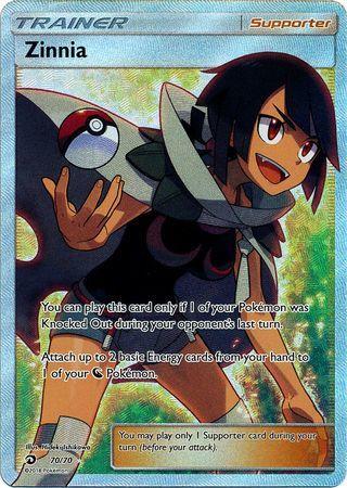 Zinnia 7070 Full Art Ultra Rare Pokemon Pokemon