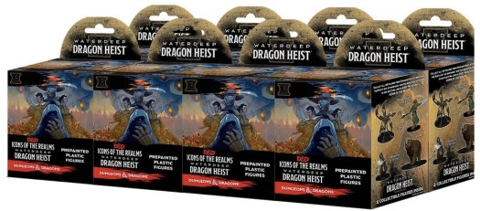Icons of the Realms - Waterdeep - Dragon Heist Booster Brick