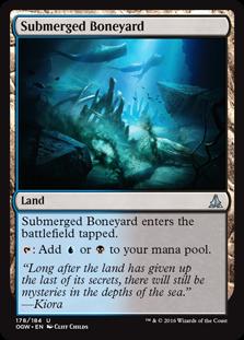 Submerged Boneyard (Oath of the Gatewatch) - Planeswalker Deck Exclulsive