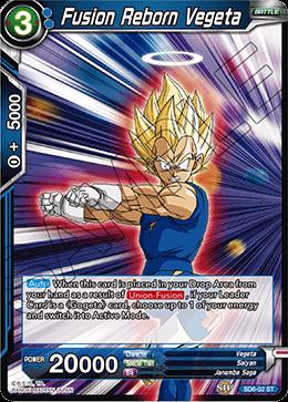 Fusion Reborn Vegeta - SD6-02 - ST