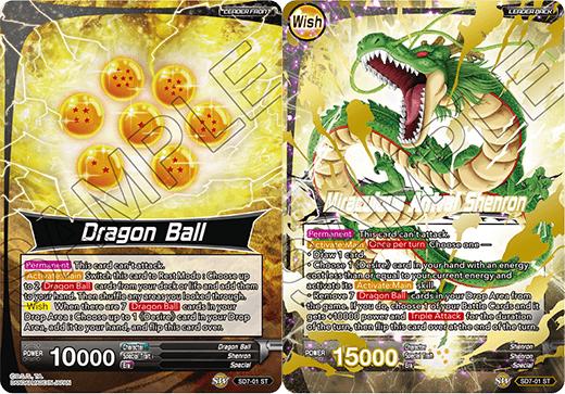 Dragon Ball // Miraculous Arrival Shenron - SD7-01 - ST