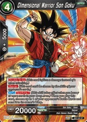 Dimensional Warrior Son Goku - SD7-02 - ST