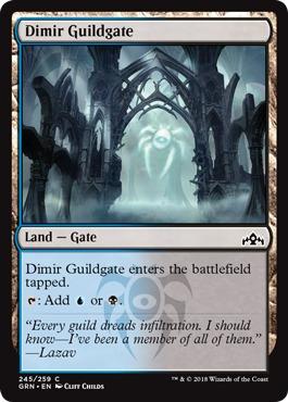 Dimir Guildgate (245) - Foil