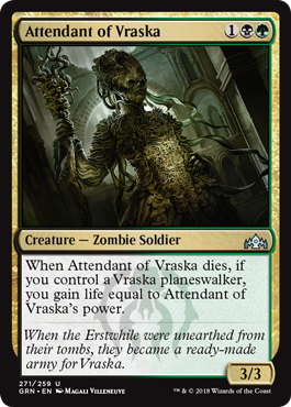 Attendant of Vraska - Planeswalker Deck Exclusive