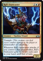 Ral's Staticaster - Planeswalker Deck Exclusive