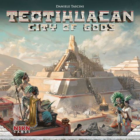 Teotihuacan: City of Gods - Board Games » Strategy - Blue