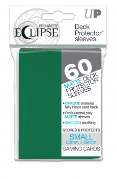 60ct PRO-Matte Eclipse Small Deck Protector sleeves - Forest Green