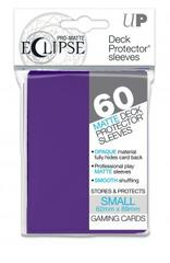 60ct PRO-Matte Eclipse Small Deck Protector sleeves - Royal Purple