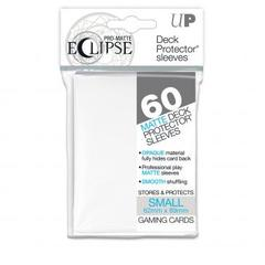 60ct PRO-Matte Eclipse Small Deck Protector sleeves - White