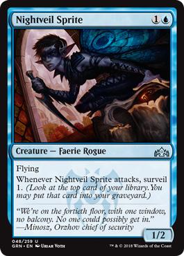 Nightveil Sprite - Foil