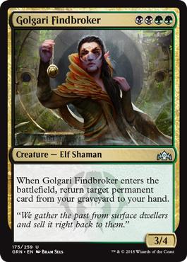 Golgari Findbroker - Foil