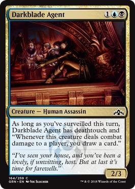 Darkblade Agent - Foil