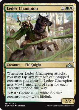 Ledev Champion - Foil