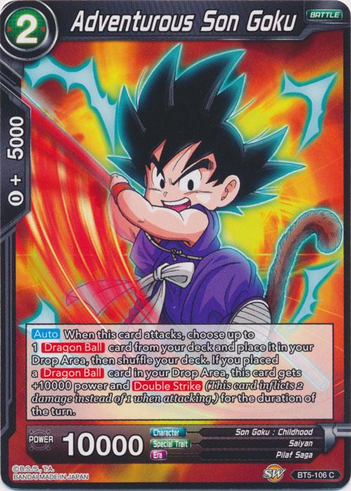 Adventurous Son Goku - BT5-106 - C