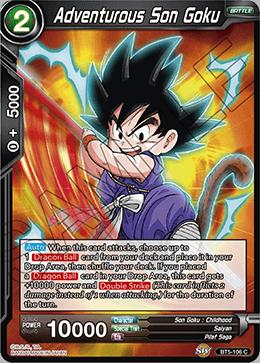 Adventurous Son Goku - BT5-106 - C - Foil