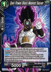 Dark Power Black Masked Saiyan - BT5-112 - UC - Foil
