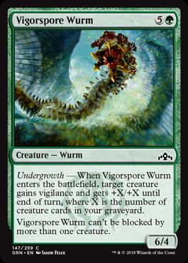 Vigorspore Wurm
