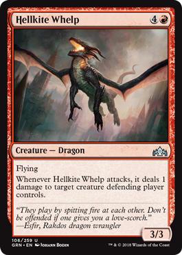 Hellkite Whelp - Foil