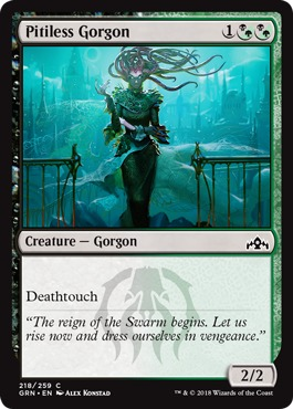 Pitiless Gorgon - Foil