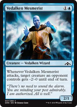 Vedalken Mesmerist - Foil