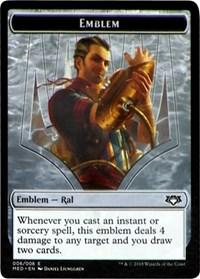 Emblem - Ral, Izzet Viceroy