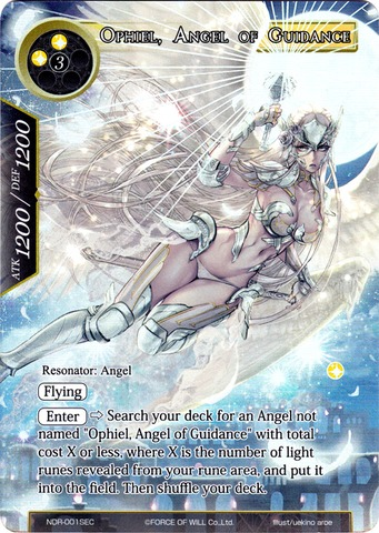 Ophiel, Angel of Guidance - NDR-001SEC - S