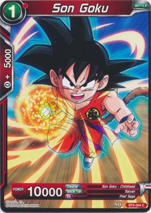 Deadly Defender Son Goku BT5-113 Rare Dragon Ball Super TCG Near Mint
