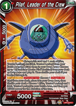 Pilaf, Leader of the Crew - BT5-016 - C - Foil
