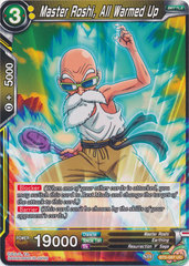 Master Roshi, All Warmed Up - BT5-087 - UC