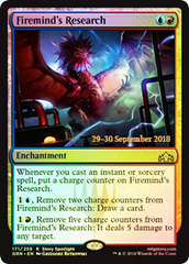 Firemind's Research (GRN Prerelease Foil)