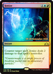 Ionize (Guilds of Ravnica Prerelease Foil)