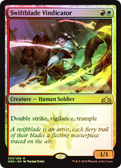 Swiftblade Vindicator - Foil - Prerelease Promo