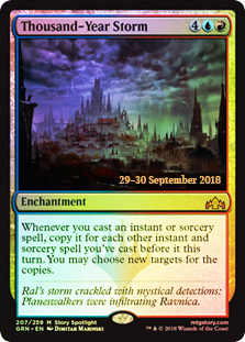 Thousand-Year Storm - Foil - Prerelease Promo