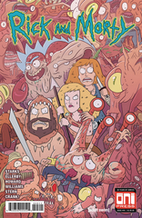 Rick & Morty #45 Cvr A (STL103151)
