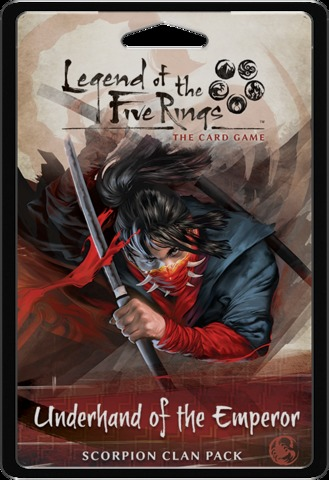 Legend of the Five Rings LCG: Underhand of the Emperor Clan Pack