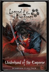 L5R Legend of the Five Rings LCG - Underhand of the Emperor Scorpion Clan Pack