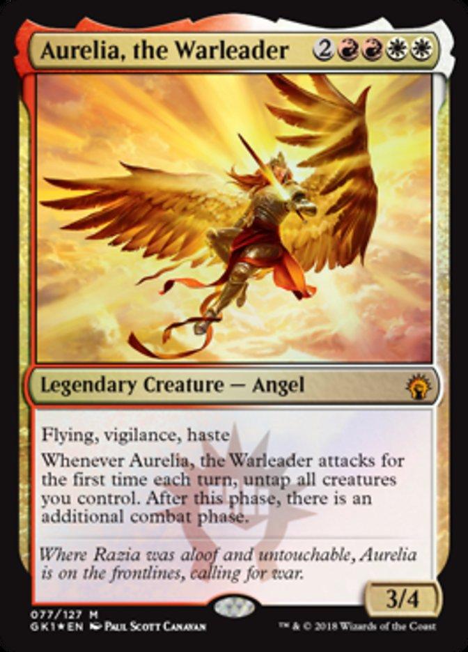 Aurelia, the Warleader - Foil