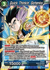 Quick Thinkin' Gotenks - BT5-039 - UC - Foil on Channel Fireball